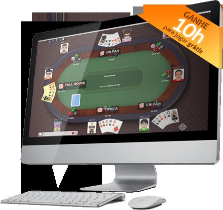 Jogar poker online a dinheiro